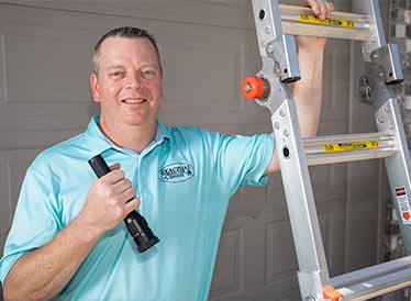 Home inspector Dave Fahrenthold from Exactual Inspection Services